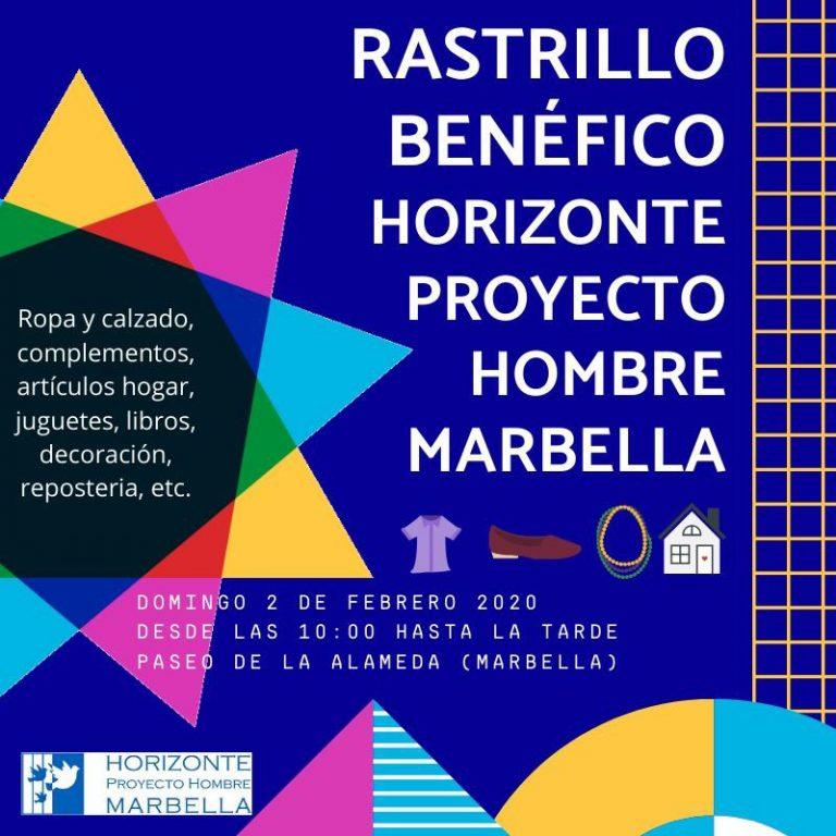 Rastrillo benéfico Horizonte Proyecto Hombre Marbella