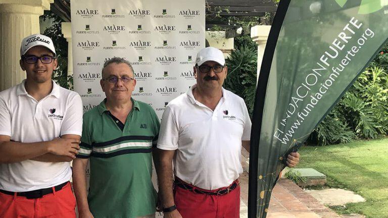 Torneos de golf y Fundación Fuerte
