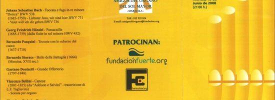Concierto 13-06-2008