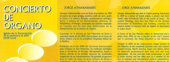 Concierto de órgano I 28-09-2007