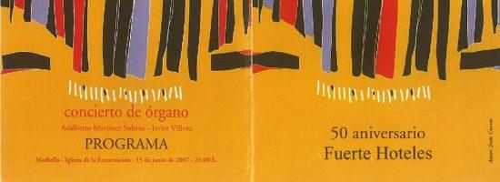 Concierto 50 Aniversario 15-06-2007